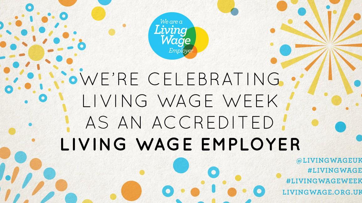 We're Celebrating Living Wage Week 2019