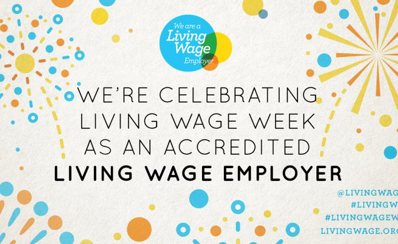 We're Celebrating Living Wage Week 2019